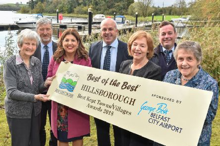 Best of the Best: The Co Down village of Hillsborough won the overall top honour at this year's Best Kept Awards. Pic by Simon Graham