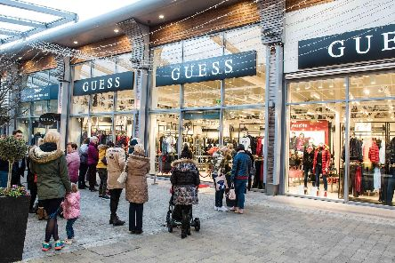 Iconic fashion brand GUESS has arrived at The Boulevard, Banbridge