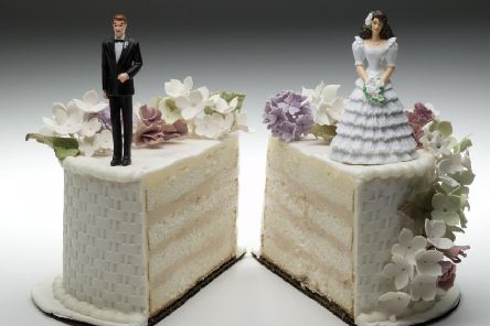 Marriages lasting between five and nine years have the highest number of divorce registrations, according to the data.