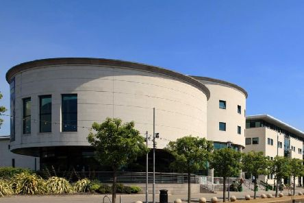 The Island Civic Centre in Lisburn.