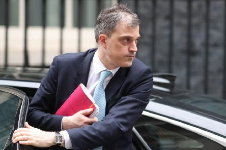 Julian Smith MP will meet the NI parties on Friday in some of his first engagements as he picks up the responsibility of progressing devolution talks. (Photo by Daniel LEAL-OLIVAS / AFP)