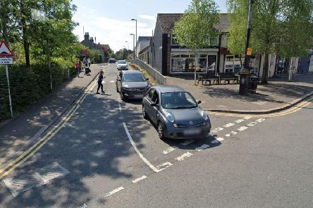 The collision occurred near the junction with Kingsway. Picture: Google