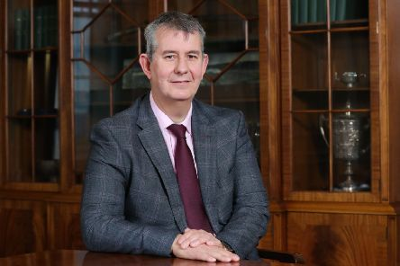 Agriculture Minister Edwin Poots MLA. Photo by Kelvin Boyes  / Press Eye.