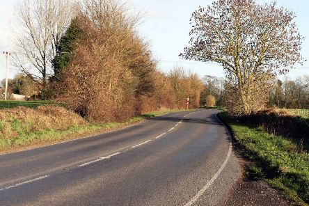 DM1923214a.jpg. Nyton Road, Westergate. New A29 bypass route identified, will take traffic away from Westergate and Eastergate. Photo by Derek Martin Photography. SUS-190219-184743008