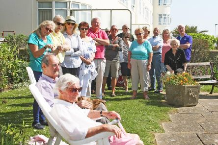 Residents of Clarence Court are not happy about the plans. Picture: Derek Martin