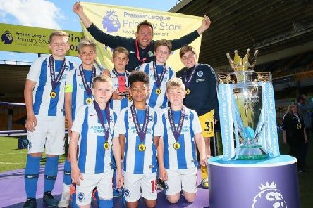 Orchards Junior School pupils are the 2019 Premier League Primary Stars champions