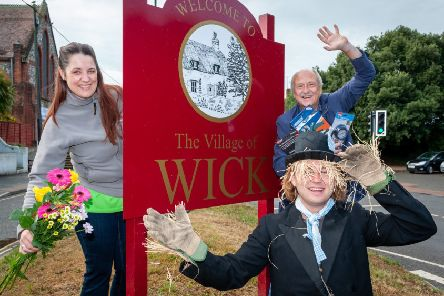 Wick Village Traders Association members launch the new Wick Festival. Picture: Scott Ramsey