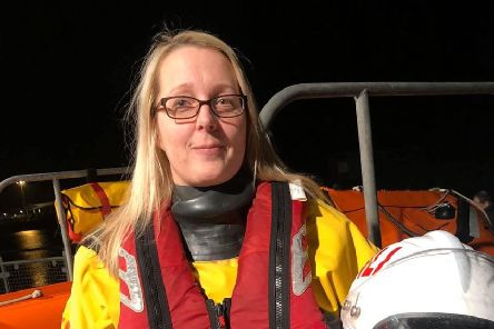 Hazel Condell from Shoreham. Photo: Shoreham RNLI Lifeboat Station