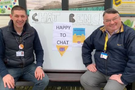 Lib Dem councillors Martin McCabe and Bob Smytherman want to see Chat Benches installed in Worthing