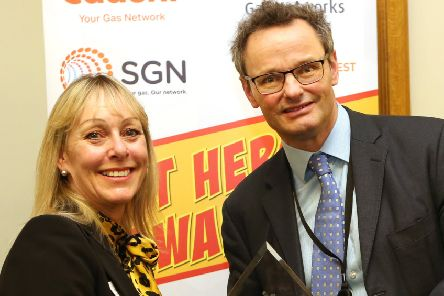 National heat hero Paula Hilton, repairs and contracts manager at Arun District Council