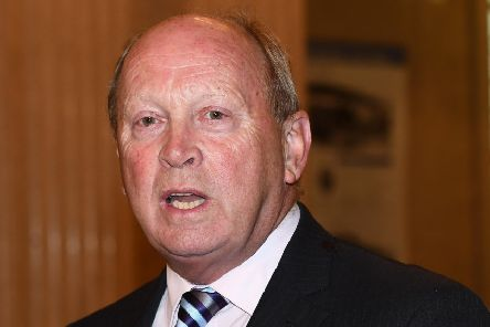 TUV Leader Jim Allister.'Photo Colm Lenaghan/Pacemaker Press
