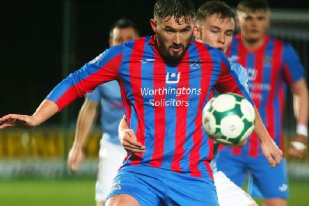 Ards' Michael McLellan settled things in stunning fashion at the Ryan McBride Brandywell Stadium.