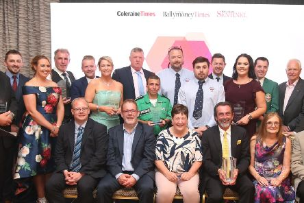 The winners of the inaugural Causeway Coast and Glens People of the Year Awards.