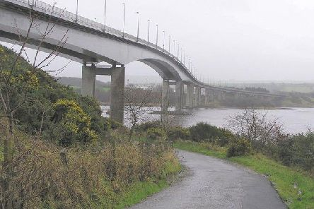 The Foyle Bridge, Londonderry.