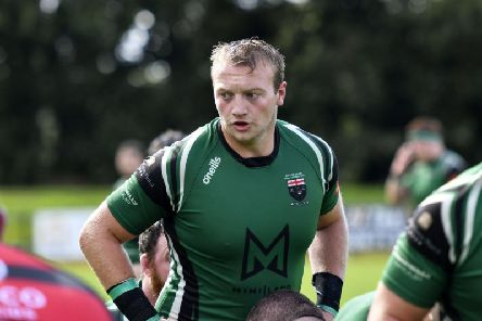 City of Derry's new Dutch international Quermy Warmerdam who will make his AIL debut against Bruff on Saturday.