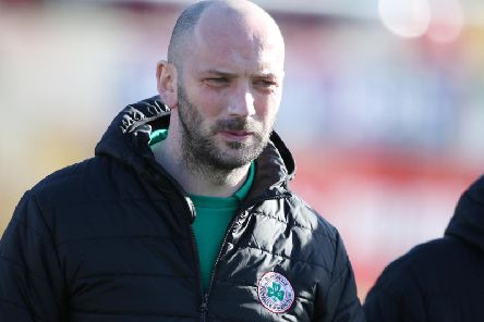 Cliftonville manager Paddy McLaughlin.