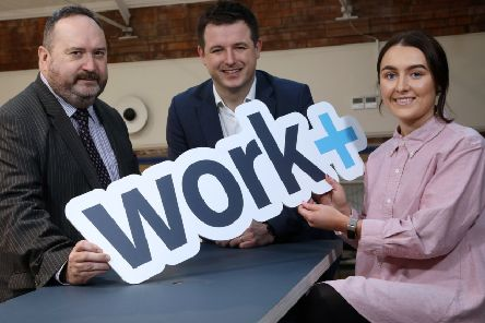 Workplus has announced that it has created 120 apprenticeship opportunities with 28 employers in Northern Ireland and applications are now open. At the launch were Jim Wilkinson, Director of Apprenticeships, Careers and Vocational Education at the Department for the Economy; Richard Kirk, Director of Workplus and Former Thornhill College and North West Regional College student Jane McMonagle, civil engineering degree apprentice at Atkins.
