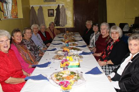 Members of Fotherby WI celebrated its 100th birthday last Tuesday, (Nov 6).  Photo: Chloe West.