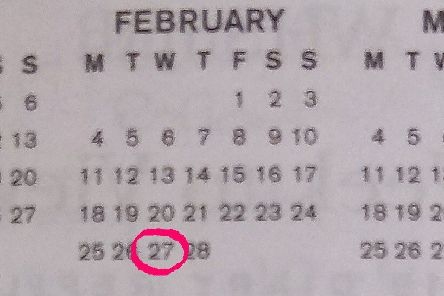 What happened this day in history: February 27 EMN-190227-081545001