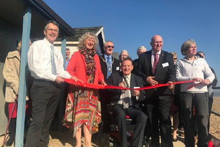 Opening of new coast path at Chapel Point