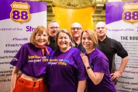 Front row, from left are: Sharon MacInnes, Deborah Labbate, Cathy Stoddart. Back row, from left, are Ian Stoddart, Roy Bond, Adam Hayes. Missing from the photo are: Debbie Prince, Samantha Woodward and Craig Land. Picture: Lamar Francois.