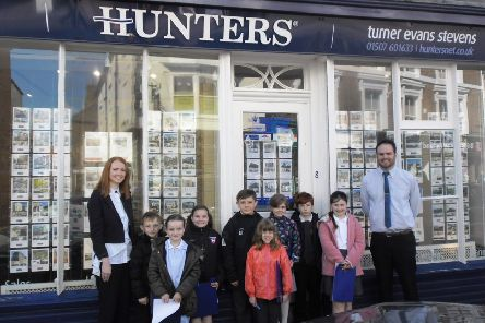 Kidgate pupils learn about community connections in Louth.