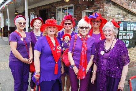 The Seaside Sizzlers enjoyed their day out.