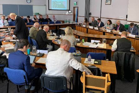 East Lindsey District Council's planning committee meeting today (Thursday).