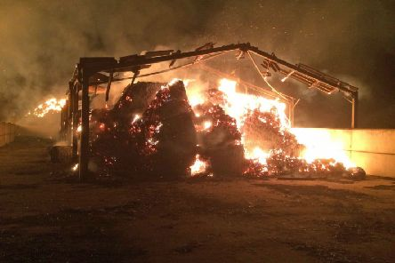 Farmers are urged to take steps against arson EMN-190508-085932001