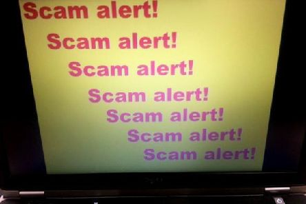 Phone scam warning in Billingborough.