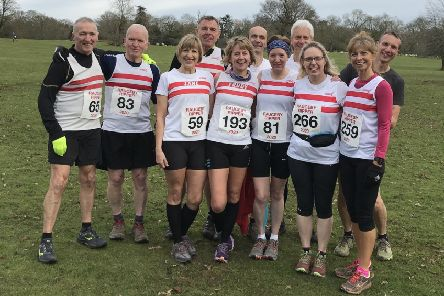 The Louth AC contingent who took on the Rauceby Ripper EMN-201002-102059002
