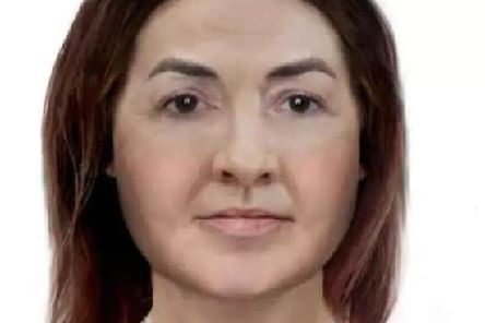 What the woman may look like