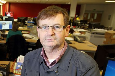 Willie Frazer remains seriously ill in hospital.