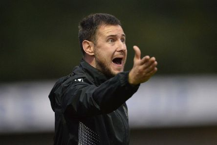Warrenpoint Town boss Stephen McDonnell. Pic by INPHO.