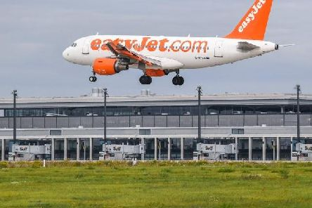 The incident happened aboard an easyJet flight from Luton