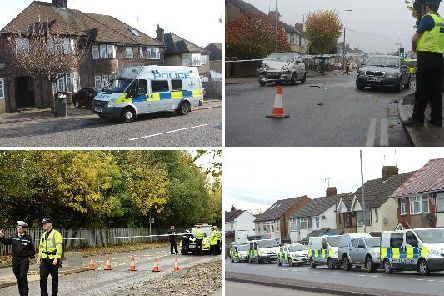 There were a total of 422 reports of violent crime and sexual offences in Luton in December 2018