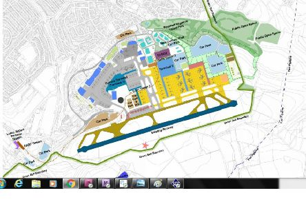 Council reveals new terminal plan for Luton airport
