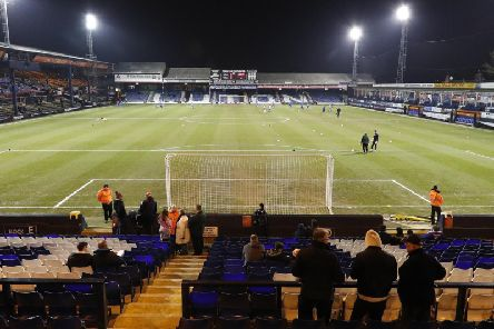 Luton Town are four points clear at the top of League One