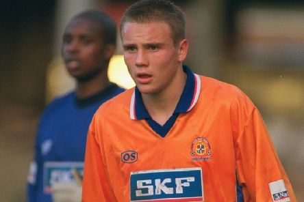 Matt Taylor in his Luton days