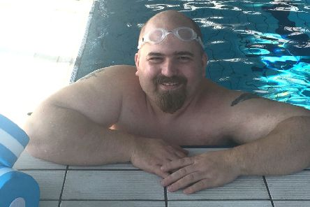 Matt Grice at his local pool