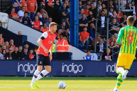 Ryan Tunnicliffe on the ball against West Bromwich Albion