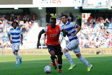 Kazenga LuaLua moves forward against QPR
