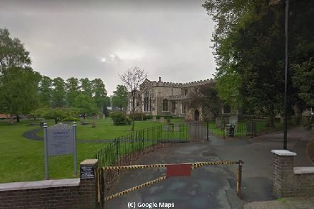 St Mary's Church in Luton. Photo from Google Maps