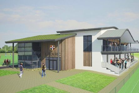 Plans for Luton Rugby's new facilities will be on show on Monday, September 23