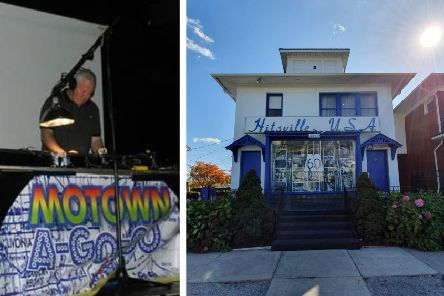 Left: Mark. Right: Hitsville USA  - the nickname given to Motown's first headquarters, 1959 - 72. Motown Records gave African-American inner-city youths the chance to become superstars.