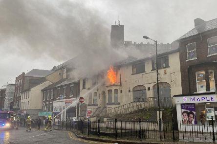 Fire at Upper George Street