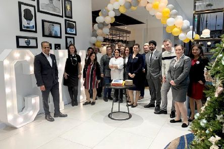 Staff at Courtyard by Marriott Luton Airport are celebrating a successful first year