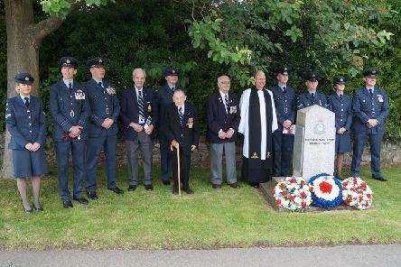 101 Squadron Association memorial service at Ludford EMN-191106-080813001