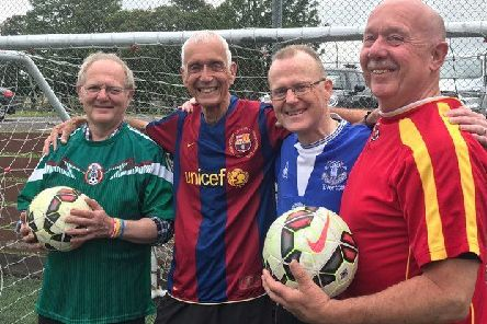 Tony Trevor, Bob Tubman, Gary Fenwick and Colin Saywell  are all up for a game next month