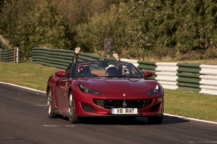 Filming of 'Top Gear' at Cadwell Park in September 2019.
